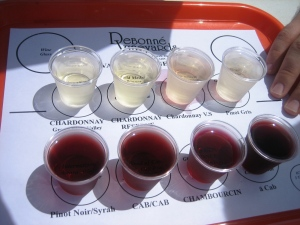 debonne wine sampler
