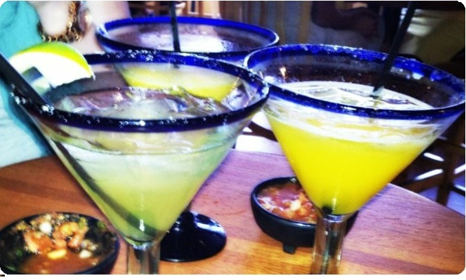 margaritas from zocalo