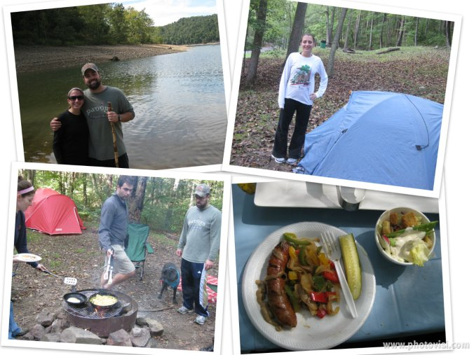 Tygart lake photo collage