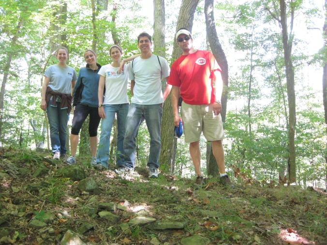 Tygart Lake Hiking - Group Photo