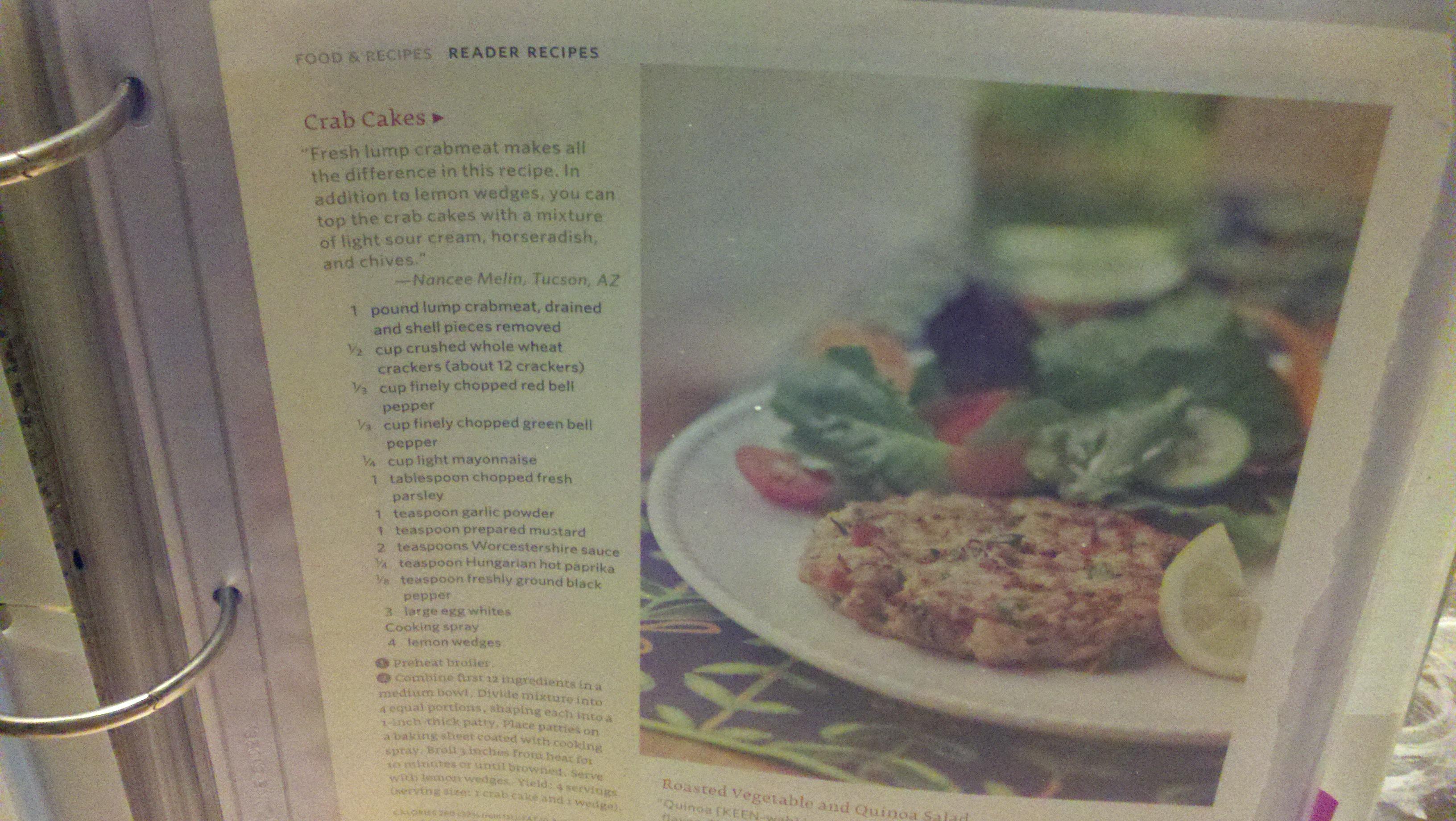Giant Eagle Crab Cake Recipe