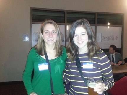 cari and me at tweetup