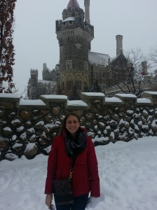 in front of casa loma