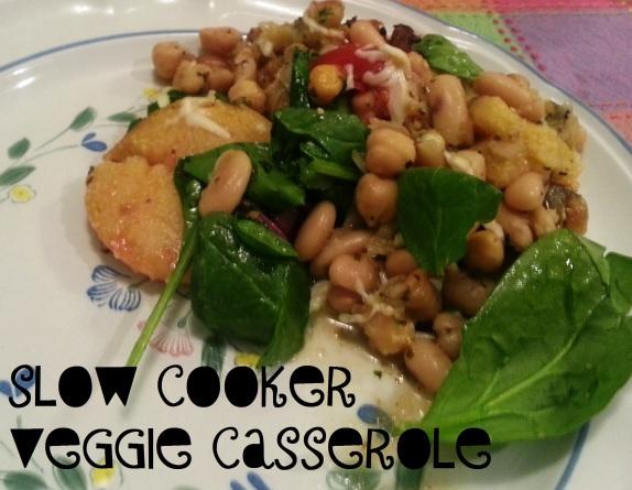 slow cooker veggie casserole