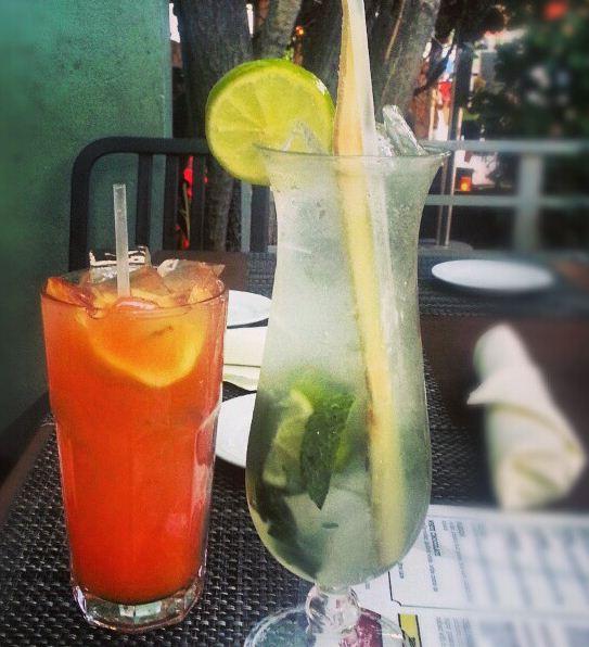 fruity birthday drinks