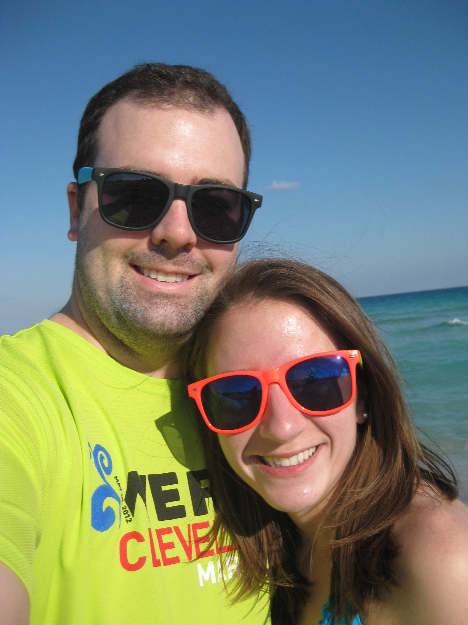 mandatory selfie on the beach