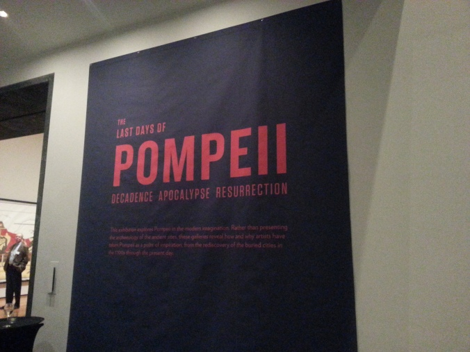 Pompeii at Cleveland Art Museum