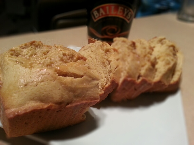baileys cake with an irish cream glaze