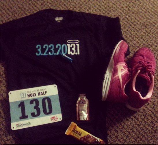 holy half marathon