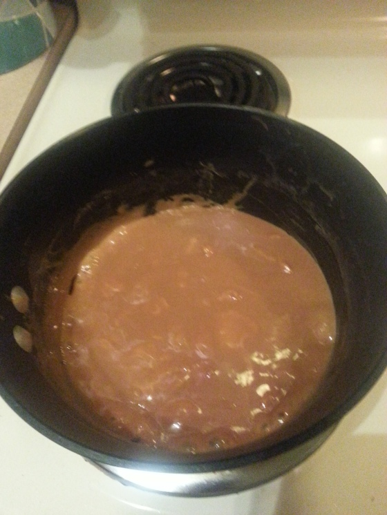 cooking the caramel