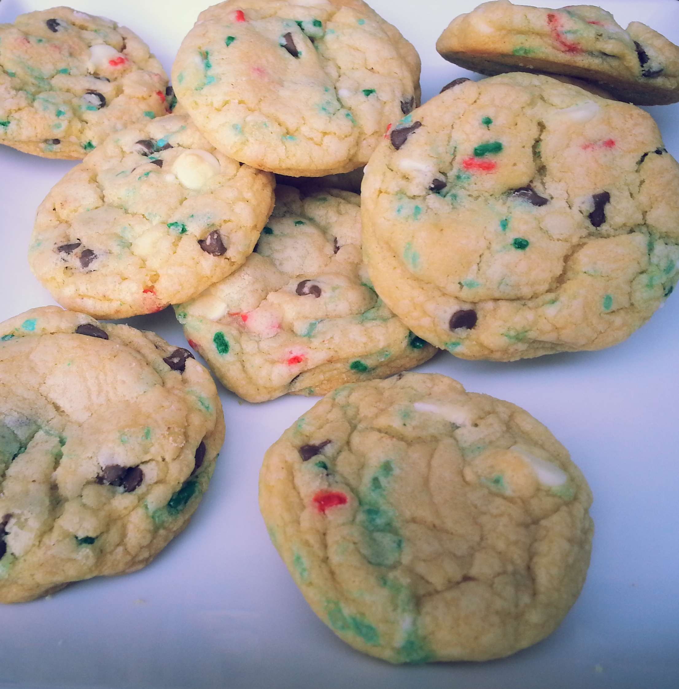 Birthday Cake Batter Cookies