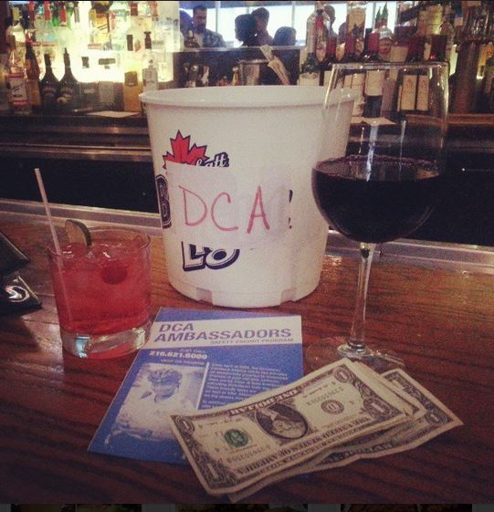 Drinks = Tips for DCA Safety Ambassadors!