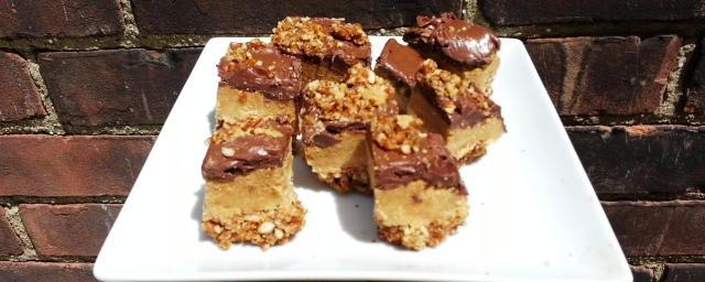nutella peanut butter chocolate bars