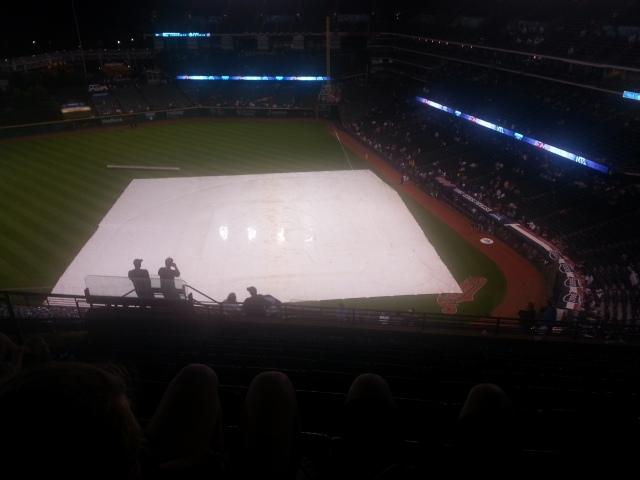 AH! Oh no. Not the tarp again!