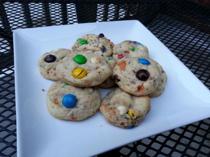 confetti m&m sugar cookies | I Crashed The Web