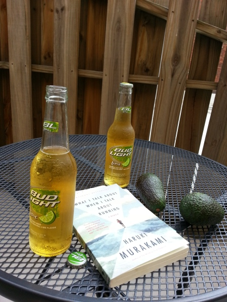 We relaxed on our private patio. I love Bud Light Lime in the summer!
