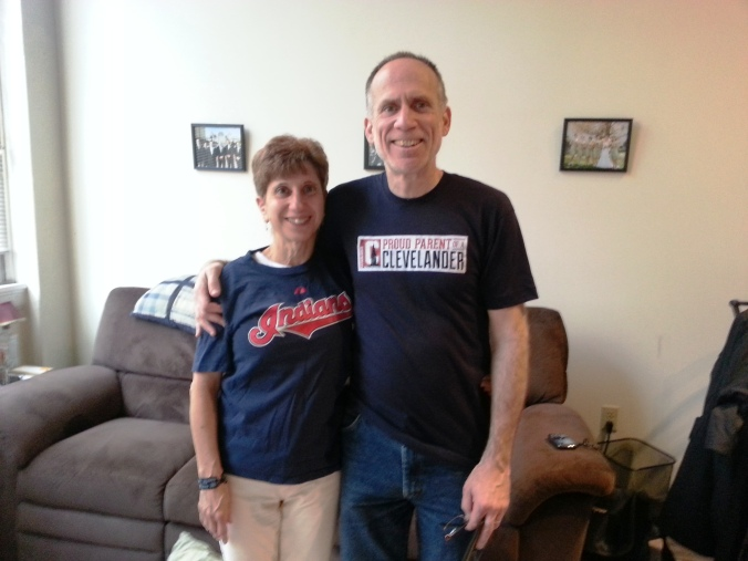 Yes, i got these New Yorkers to wear Cleveland shirts!