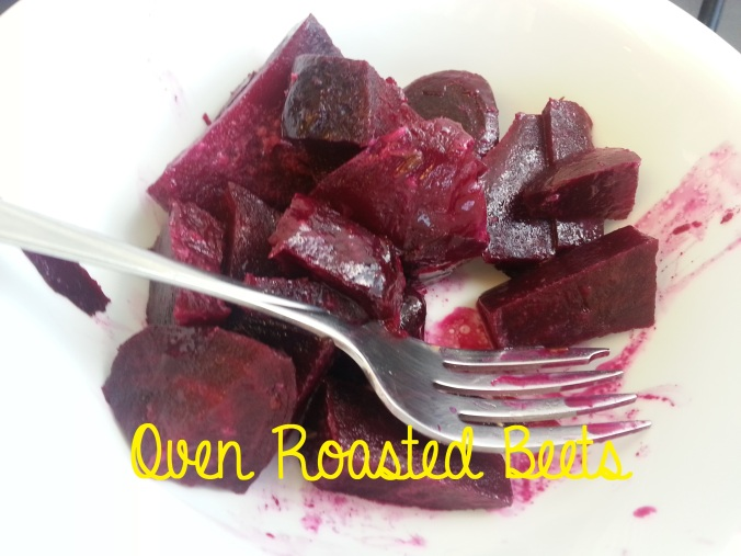 oven roasted beets mustard vinaigrette