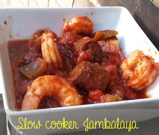 slow cooker - crock pot - jambalaya ~ I crashed the web