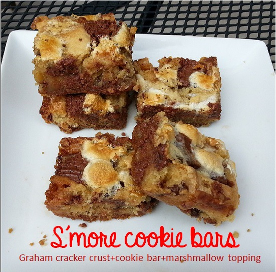 smore bookie bars