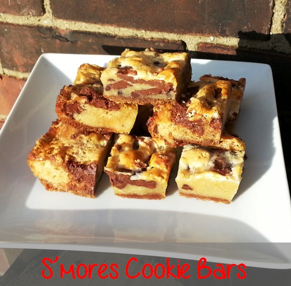 smores blondies cookie bars