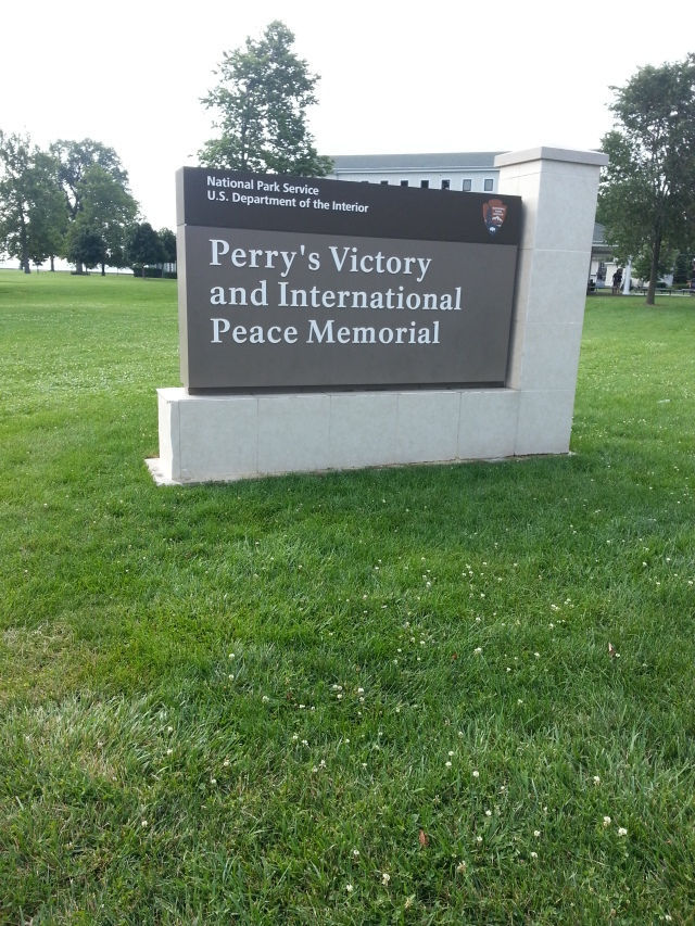 It's an International Peace memorial. I learned that US and Canada have had more years of peace than any other countries that share a border!