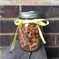 My mom's homemade granola {recipe}
