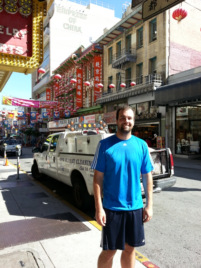 Running in Chinatown