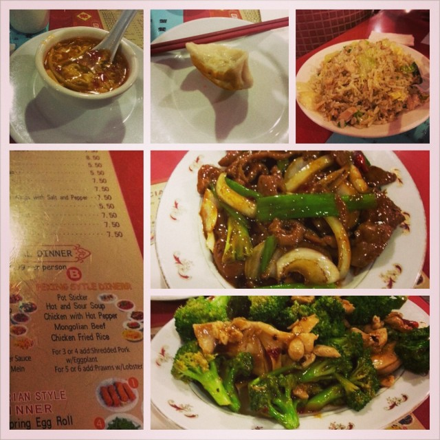 Awesome five course meal in Chinatown at Kam Luk