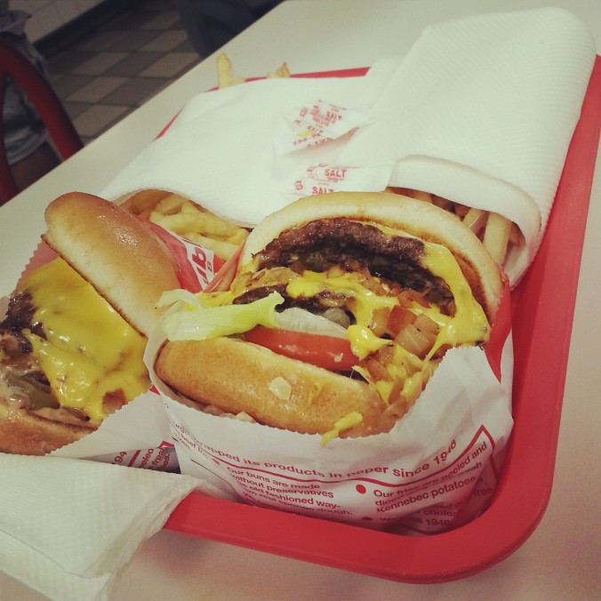 B's first In&Out!