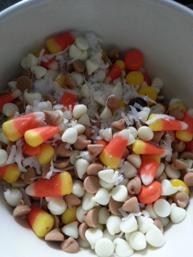 candy corn bar prep