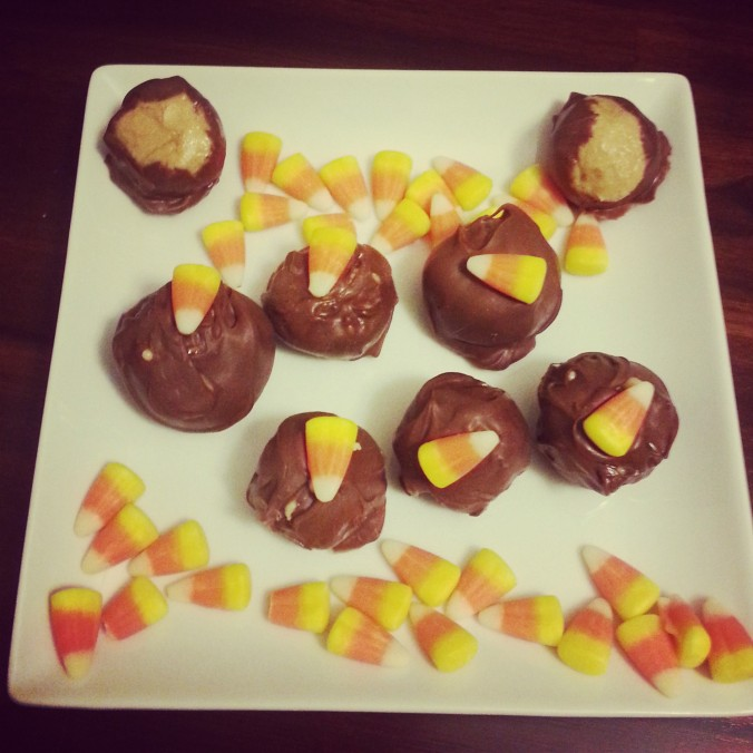 Or just top with candy corn and enjoy!