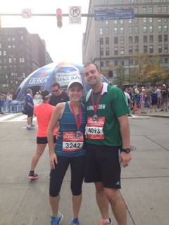 B and me post race