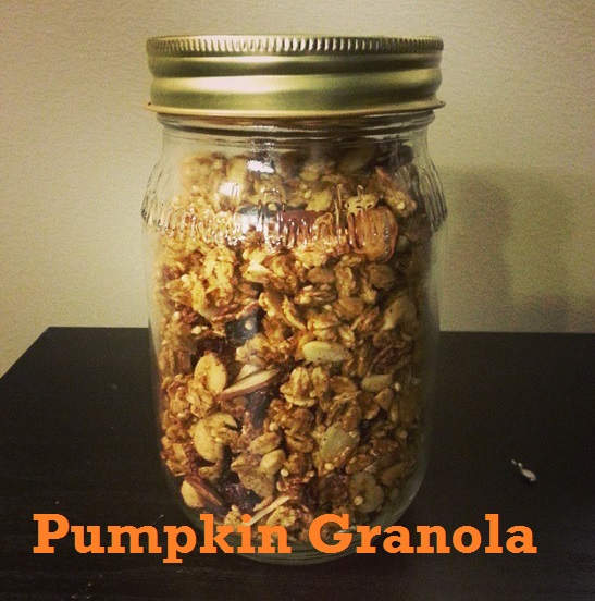 pumpkin granola - i crashed the web