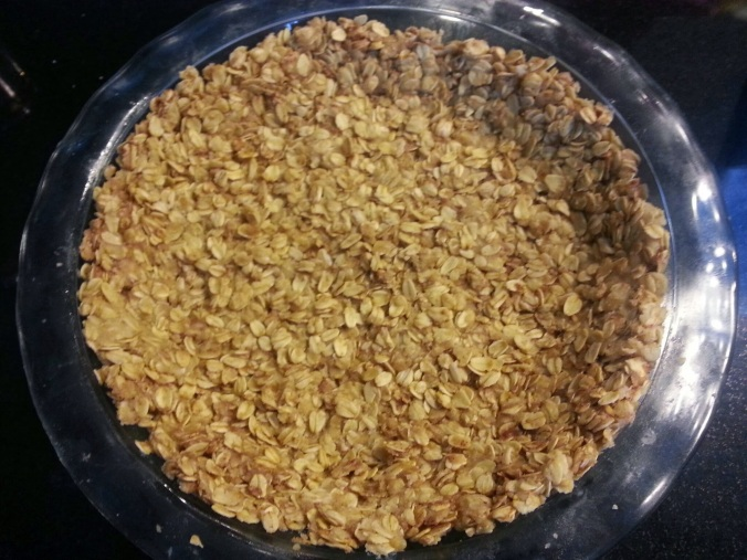 oatmeal cookie crust