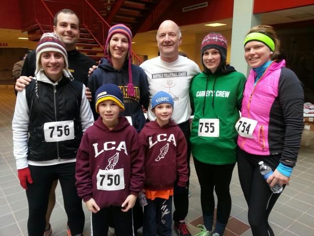 The whole gang who ran!