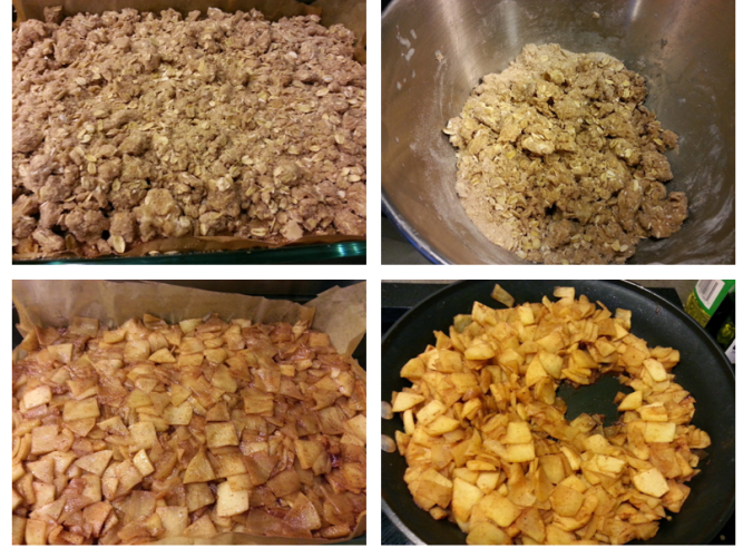 apple crumb pie squares - thanksgiving - i crashed the web