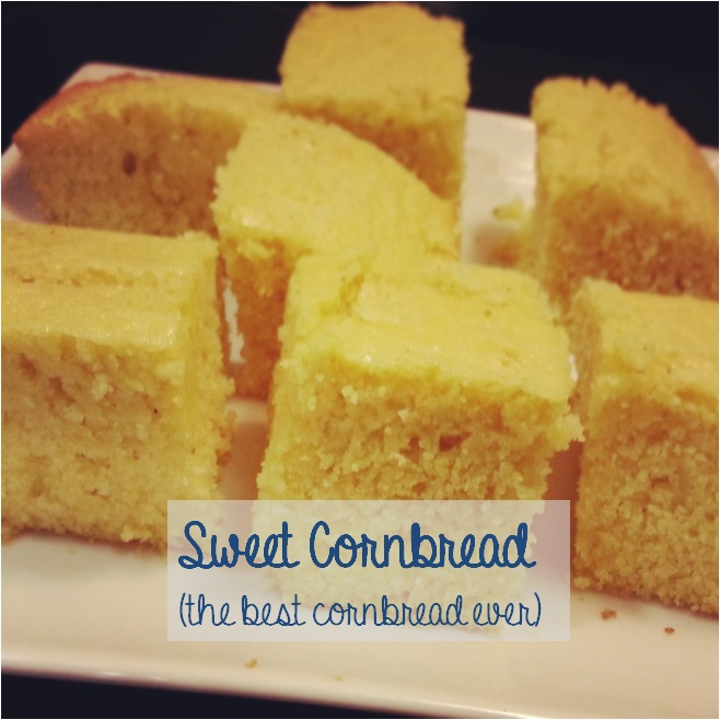 sweet cornbread - i crashed the web