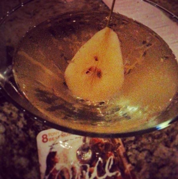 pear martini