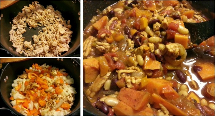 sweet potato chicken chili image - i crashed the web