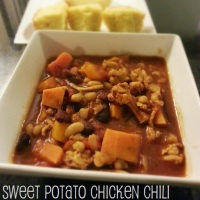 Sweet Potato Chicken Chili