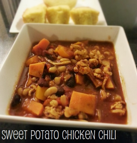 sweet potato chicken chili photo - i crashed the web