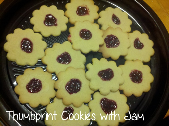 Thumbprint Cookies with Jam - i crashed the web