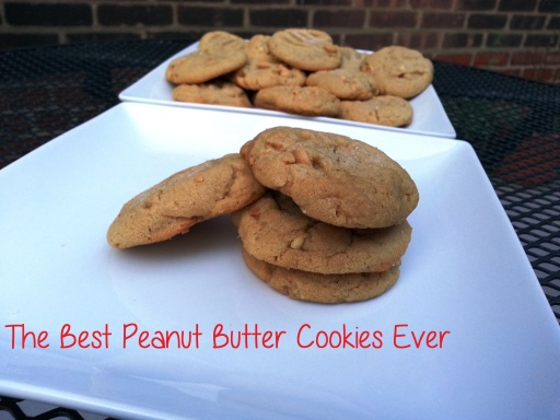 favorite peanut butter cookies - i crashed the web