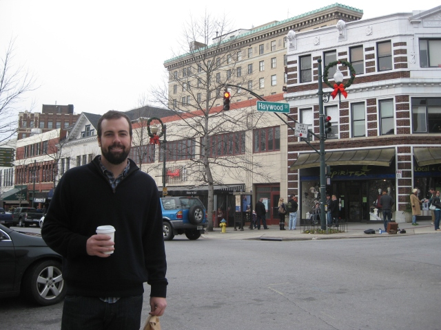 Walking around Asheville