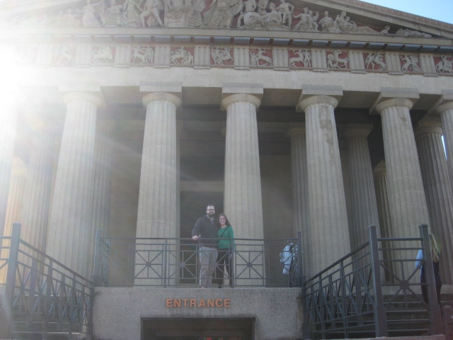 Parthenon! In Nashville!