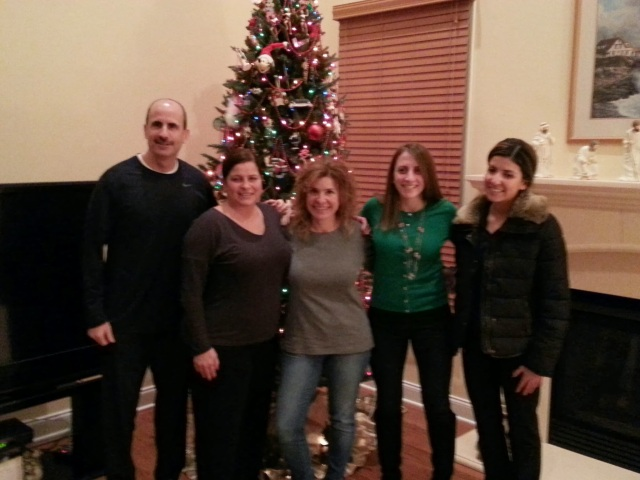 Just a few of my family in New Jersey