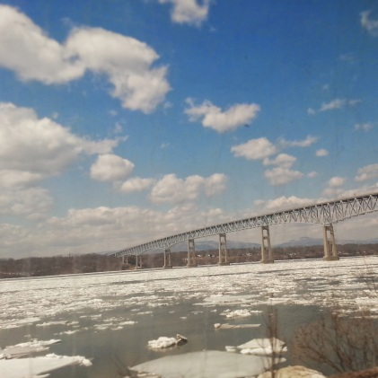 Also took the train up to Albany and got some great views