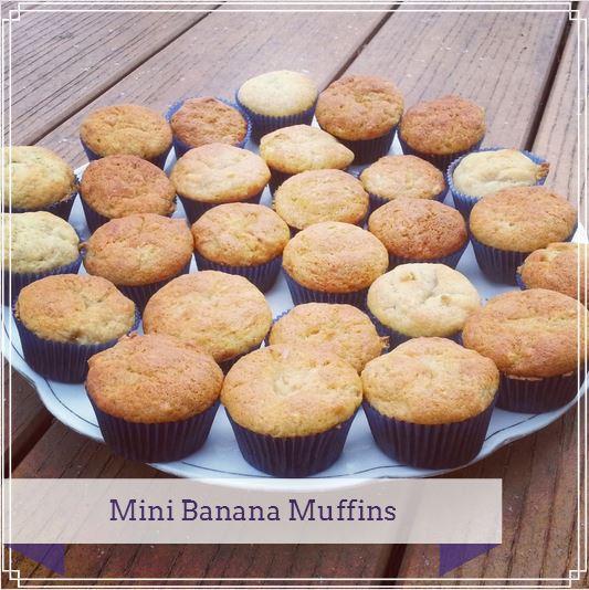mini banana muffins~i crashed the web
