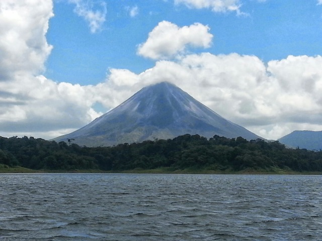 boat ride to Arenal